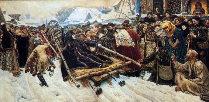 Boyarynya Morozova. Vasily Ivanovich SURIKOV