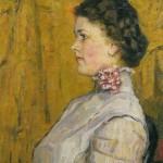 Portrait of an Unknown Woman. Vasily Ivanovich SURIKOV