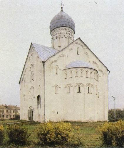Church of Our Savior, Ilyin Street, Novgorod