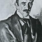 V. A. Serov. Portrait of P. P. Trubetskoi