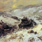 Mozdok battle in 1943. Fyodor Pavlovich USYPENKO