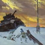 Enemy stopped. Fyodor Pavlovich USYPENKO