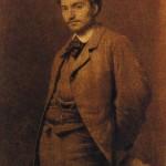 I. N. Kramskoi. Portrait of F. A. Vasiliev