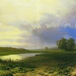 A Wet Meadow. Fyodor Alexandrovich VASILIEV