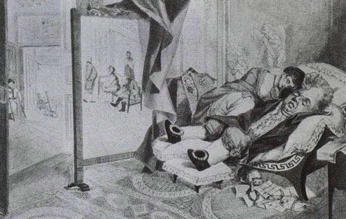 The Nobleman. Alexei Gavrilovich VENETSIANOV