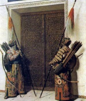 Tamerlane's Guards. Vasily Vasilyevich VERESHCHAGIN