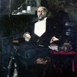 Portrait of C.I. Mamontov. Mikhail Alexandrovich VRUBEL
