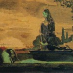 Mourning. Mikhail Alexandrovich VRUBEL