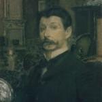 Self-Portrait. Mikhail Alexandrovich VRUBEL