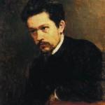 Self-Portrait. Nikolai Alexandrovich YAROSHENKO